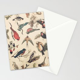 Vintage Songbirds Stationery Cards