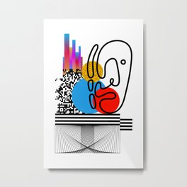 Citty Issues Metal Print