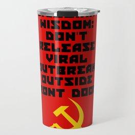 Russian Wisdom Travel Mug