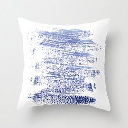 Energy brush strokes Throw Pillow