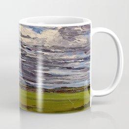 clouds over Sagamore farms Coffee Mug