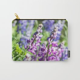 Field of Lupines Photography Print Carry-All Pouch