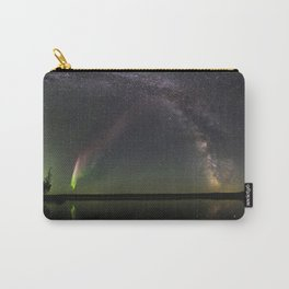 Milky Way and Steve Carry-All Pouch
