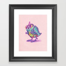 Monster Chick Framed Art Print