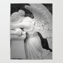crying angel Poster