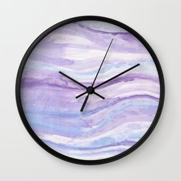 Abstract textile Wall Clock