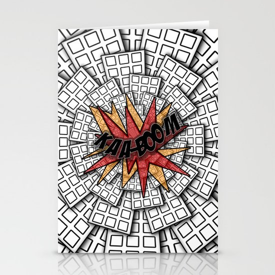 KAA-BOOM Stationery Cards