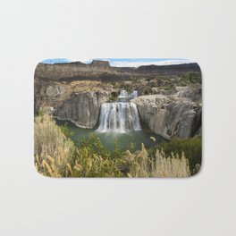 Waterfall Photography - Shoshone Falls Idaho Bath Mat