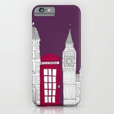 Night Sky // London Red Telephone Box iPhone 6s Slim Case