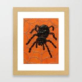 Spooky Tarantula Framed Art Print
