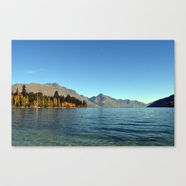 Queenstown Landscape Canvas Print