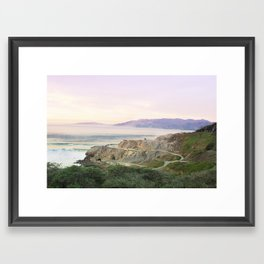 Pacific 2 Framed Art Print
