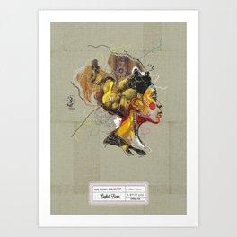 Erykah Badu - Soul Sister | Soul Brother Art Print