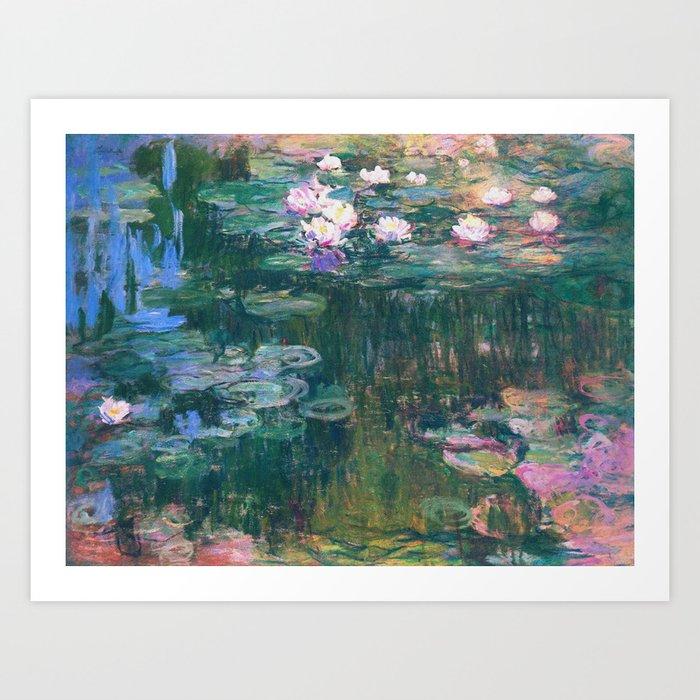 Claude Monet - Water Lilies Kunstdrucke