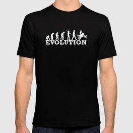 Evolution Dirt Bike Motorcross T-shirt