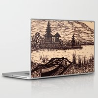 bali Laptop & iPad Skins featuring Bali Boating by Erica Putis