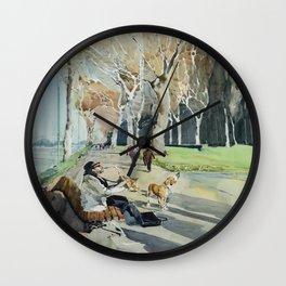 Paseo del Prado Wall Clock