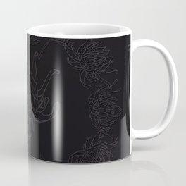 Obsidian Dahlia Coffee Mug