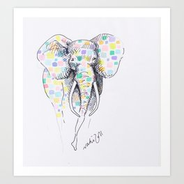 Elmer Art Print