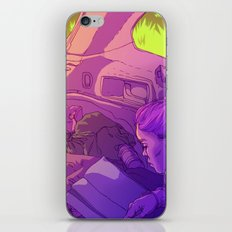 Reading in the Car iPhone & iPod Skin