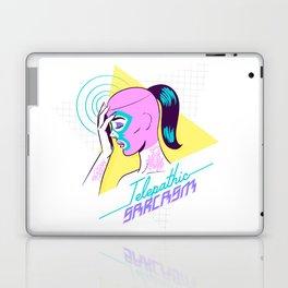 Telepathic sarcasm Laptop & iPad Skin