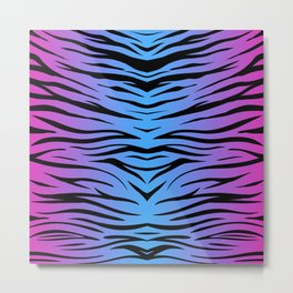 Magic Zebra Metal Print