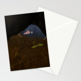Mole in a Hole Stationery Cards