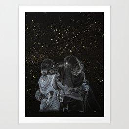 Stars (Ot4 Hug) Art Print