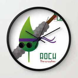 "The Blind Leaf - Rock ""The Crusher"" Wall Clock"