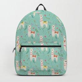 Festive Llama Backpack