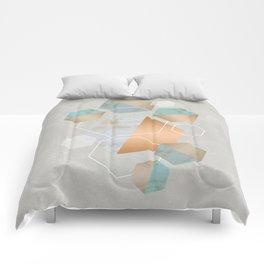 Honeycomb Concrete Comforters