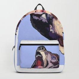 Pixelated glitch Backpack