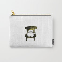 Staring Cat (Yellow) Carry-All Pouch