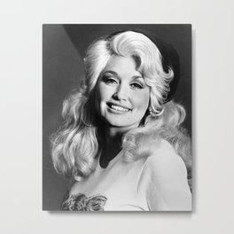 Dolly Parton Metal Print