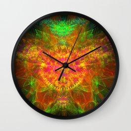 Zest Crest Wall Clock