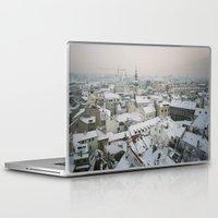 prague Laptop & iPad Skins featuring Prague by BriAnneWills