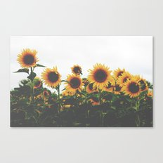 They Were All Yellow Canvas Print