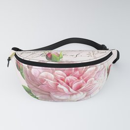 Paris Rose Fanny Pack