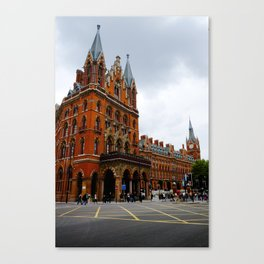 Euston Crossroads. Canvas Print