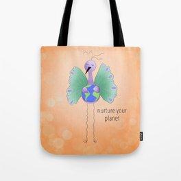 Nurture Your Planet Tote Bag