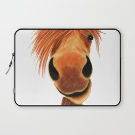 Happy Horse ' GINGER NUT ' by Shirley MacArthur Laptop Sleeve