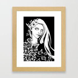 Ivy Elf 1 Framed Art Print