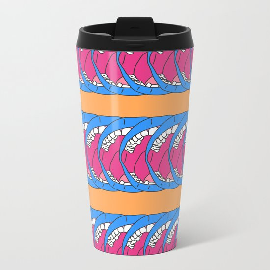 Finding A Place To Talk Metal Travel Mug