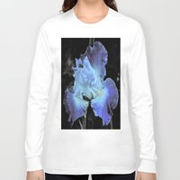 iris Long Sleeve T-shirts featuring Iris by Sheri L. Wright