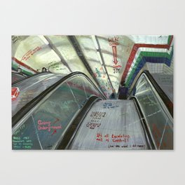 London #5. Piccadilly tube station Canvas Print