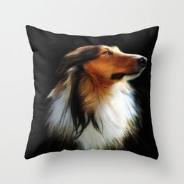 Lassie Throw Pillow