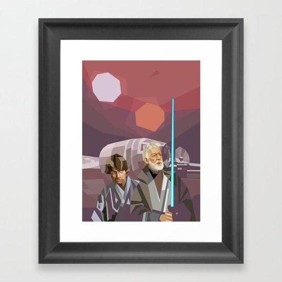 Farthest From Framed Art Print