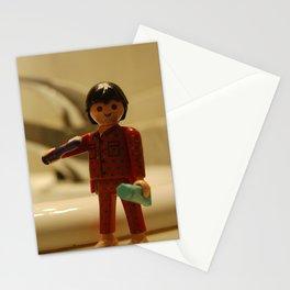 playmobil pajama sleep Stationery Cards