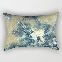 ALTERED Sharpest View of Orion Nebula Rectangular Pillow
