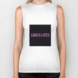 Karma Is A Witch Biker Tank